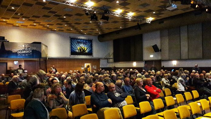 De theaterruimte van MFC Oelbroeck in Sint Anthonis.