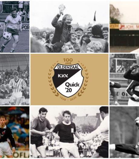 Gouden Erepenning voor Oldenzaalse Quick'20; Theo Pahlplatz prominente naam in Selectie van de Eeuw