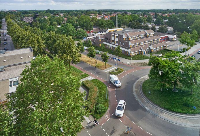 Op deze plek van het oude politiebureau en de brandweerkazerne aan de Leeuweriksweg in Uden moet vanaf 2023 een groot nieuw wooncomplex verrijzen.