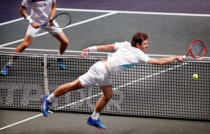 Wesley Koolhof bereikte de finale in Marseille.