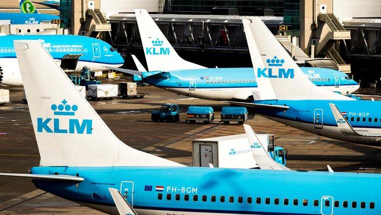 KLM heeft meerdere vluchten moeten schrappen Beeld anp