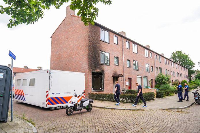 Onderzoek woning Moreelselaan in Eindhoven.