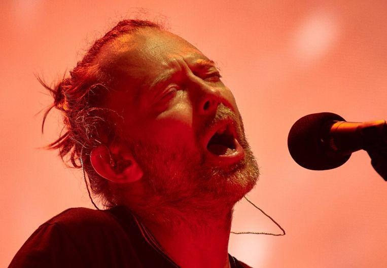 Thom Yorke. Beeld EPA