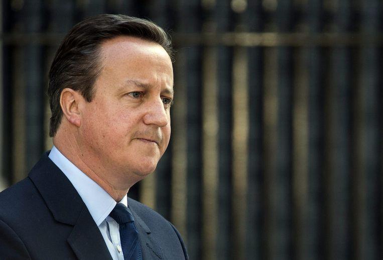 David Cameron kondigt zijn vertrek aan Beeld anp
