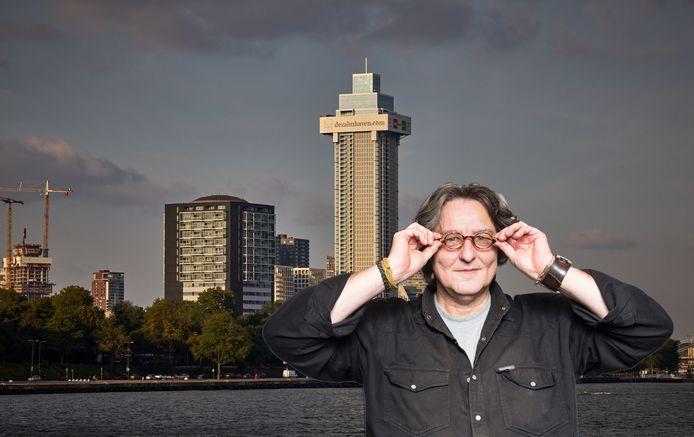 Kees Thies over de Zalmhaventoren in Rotterdam.