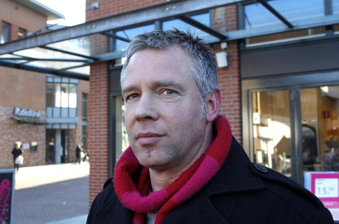 Gert Katerberg, de nieuwe stadsdichter van Raalte. Foto: Ab Hakeboom