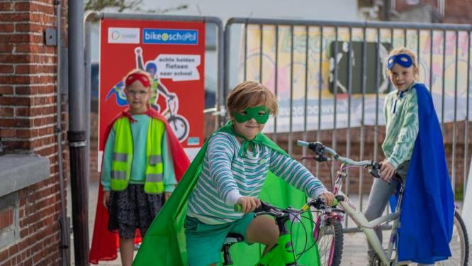 Bijna helft van Laakdalse lagereschoolkinderen doet mee met Bike2School bij opstart