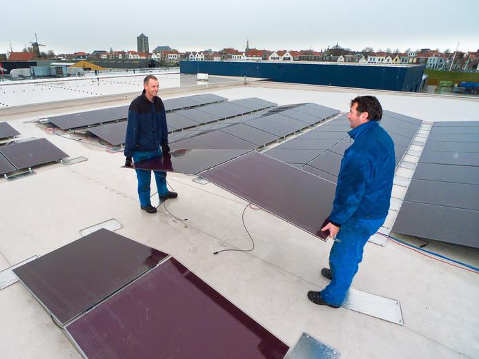 Sauzenfabrikant Van Ton in Zierikzee is één van de voorlopers met een duurzame energievoorziening.