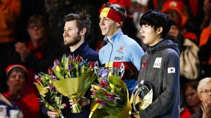 Bart Swings eindwinnaar Wereldbeker massastart na tweede plaats in Heerenveen