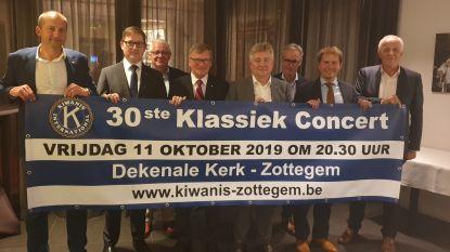 Klassiek concert ten voordele van sociale doelen Kiwanis Zottegem-Egmont