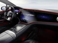 Elektrische Mercedes EQS krijgt 56 inch hyperscreen