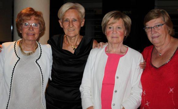 Het bestuur van de Liberale Vrouwen in Wemmel.