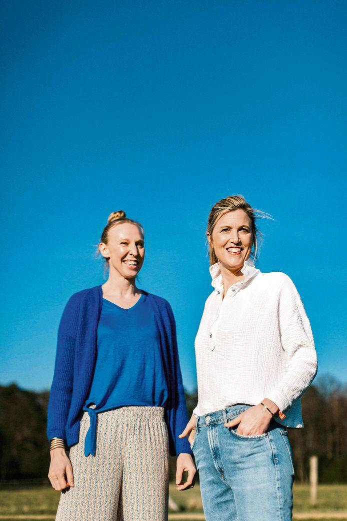 Annelies Verlinden en Ann Wauters.