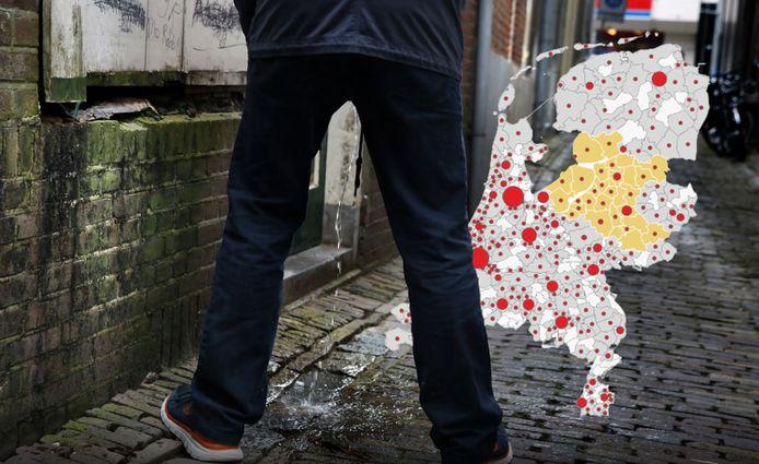 In Oost-Nederland vallen de gemeenten Meppel en Deventer op: ze staan op 1 en 2 in de landelijke ranglijst. Flevoland is de enige provincie waarin meer plasboetes zijn uitgedeeld dan vorig jaar.