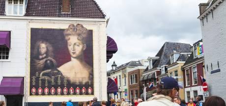 Oranjeprinses komt tot leven in licht- en geluidsspektakel Leeuwarden