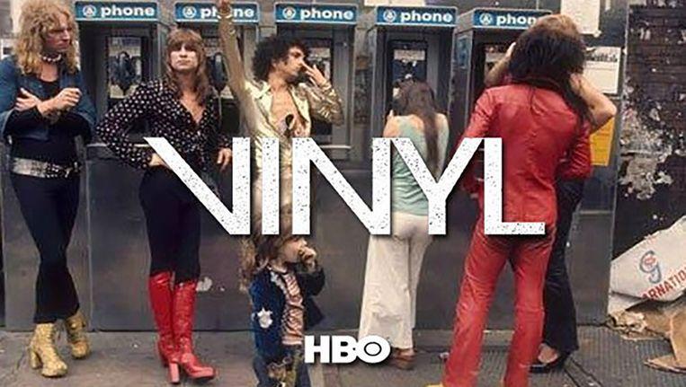 Vinyl, met een verhaal van de hand van Martin Scorsese en Mick Jagger. Beeld HBO