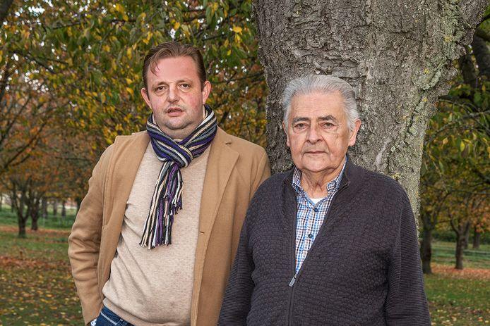 Bert Duchateau en vader Jos.