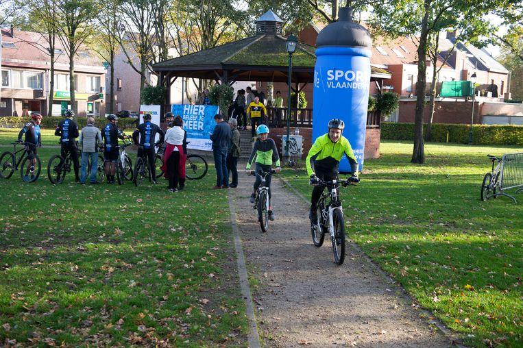 Nieuw mountenbike parkour in Halle-Zoerse