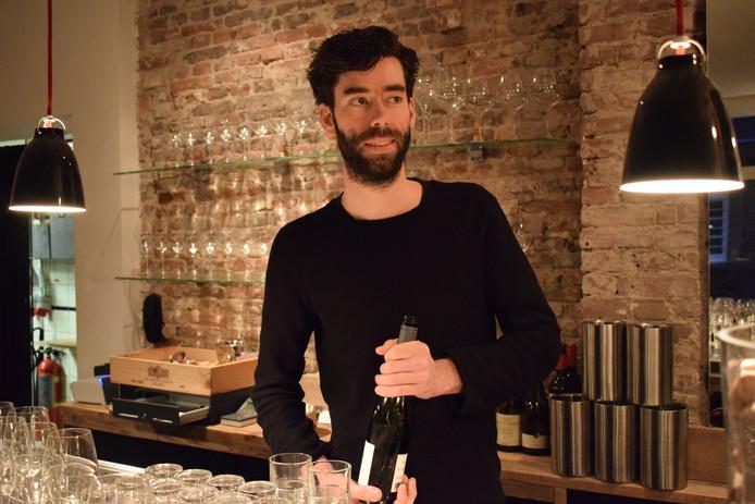 Julian Cleton van wijnbar VinVin.