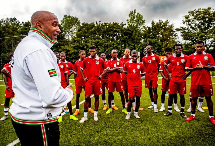 Dean Gorré is sinds 2018 bondscoach van Suriname.