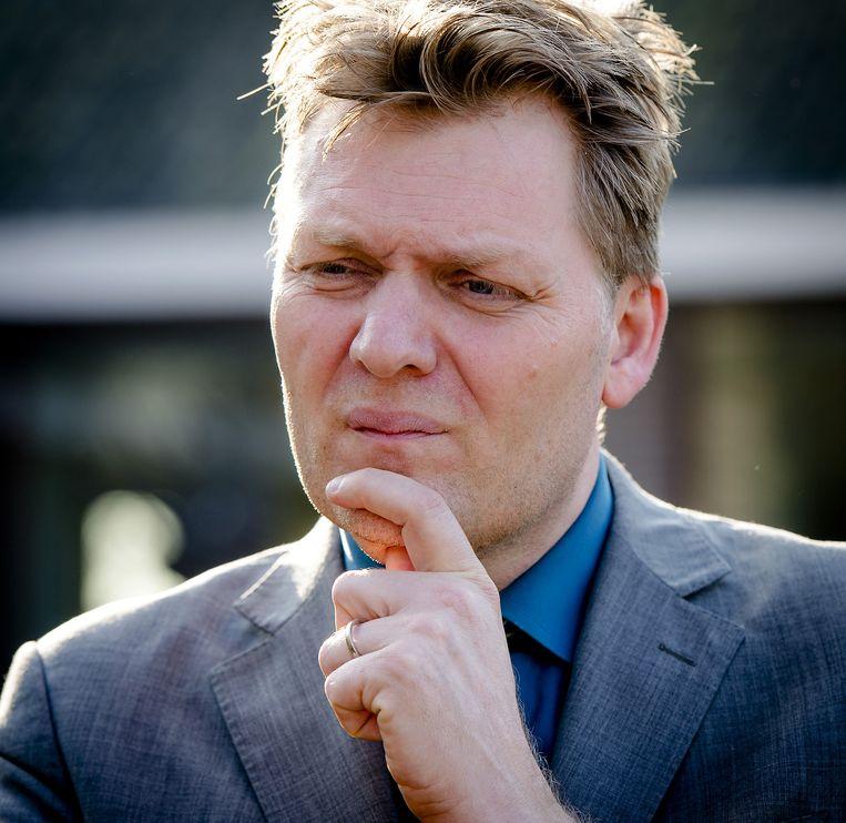 Burgemeester Jan Hamming van Heusden. Beeld anp