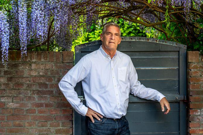 Burgemeester Frits Naafs van Utrechtse Heuvelrug.