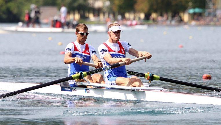 Nanne Sluis en Rogier Blink. © EPA Beeld