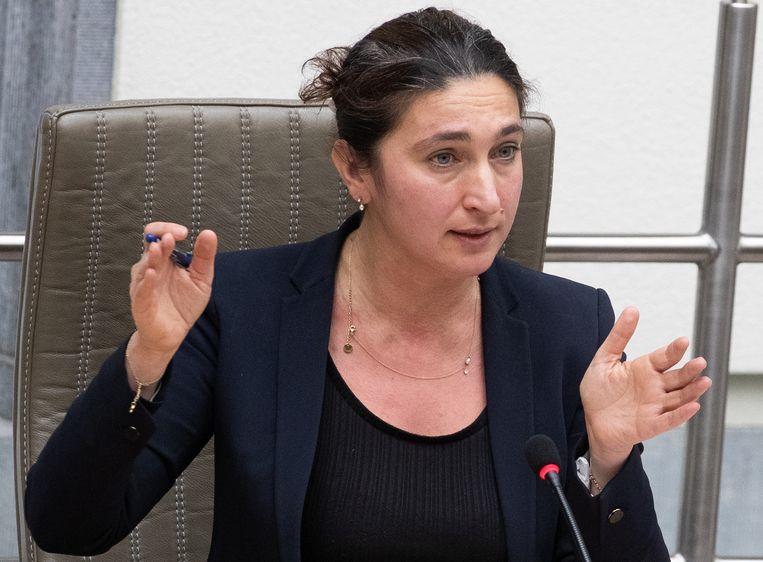 Vlaams minister van Justitie Zuhal Demir (N-VA). Beeld BELGA