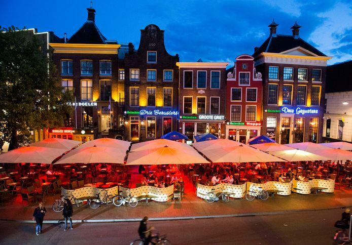 Grote Markt in Groningen.