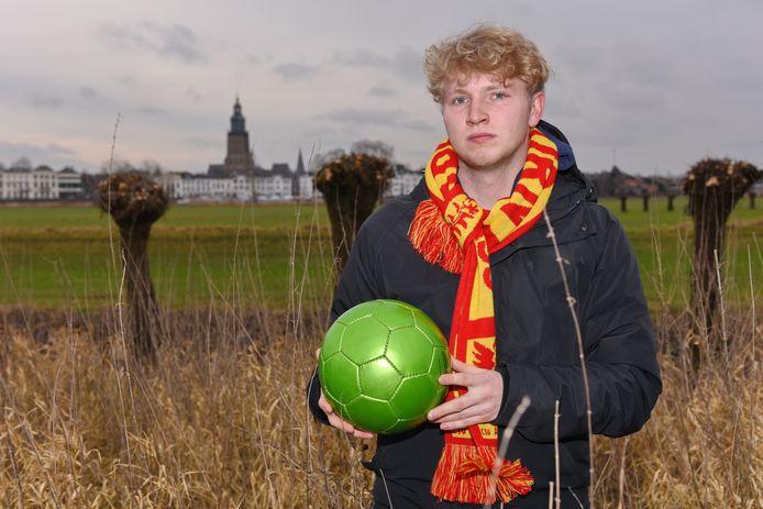 Nathan Greven stapt van FC Zutphen over naar CSV Apeldoorn.
