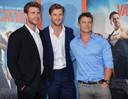 Liam, Chris et Luke Hemsworth ont chacun trouvé leur place à Hollywood.