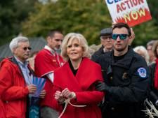 Jane Fonda staat weer op de barricaden: 'Een nachtje in de cel, nou en?'