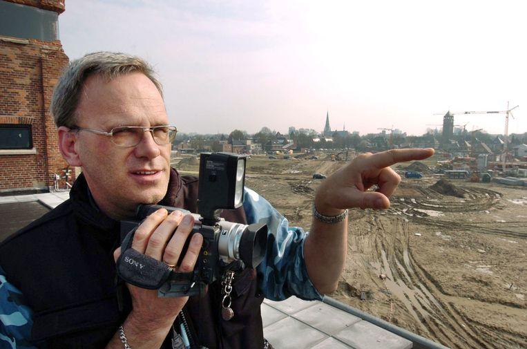 Gerrit Poort filmde de vuurwerkramp vanaf de Bamshoeve. Beeld Carlo ter Ellen