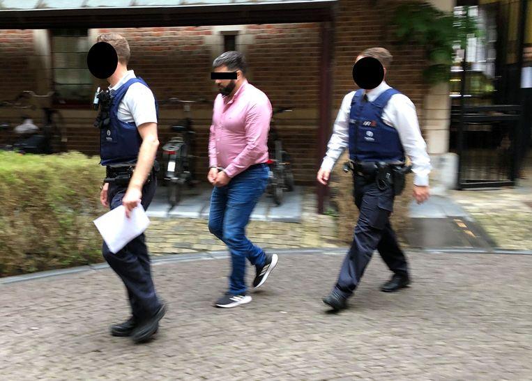 Khalid B., verdachte voor de moordpoging op kippenboer Nick Leemans