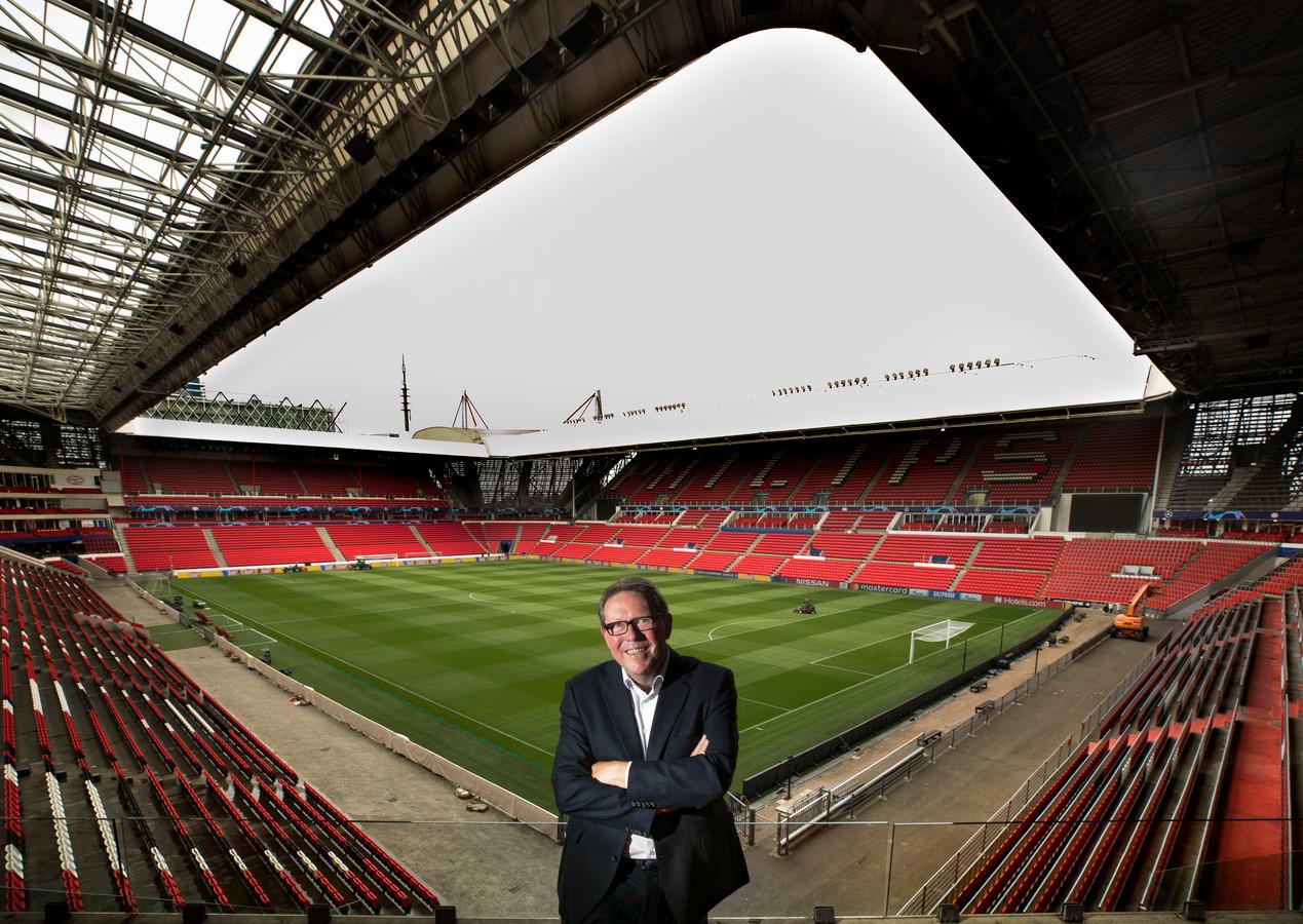 Ron Verkerk, manager wedstrijdorganisatie en veiligheid bij PSV.