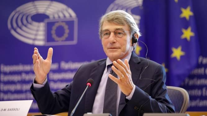 Voorzitter Europees Parlement met longontsteking in ziekenhuis