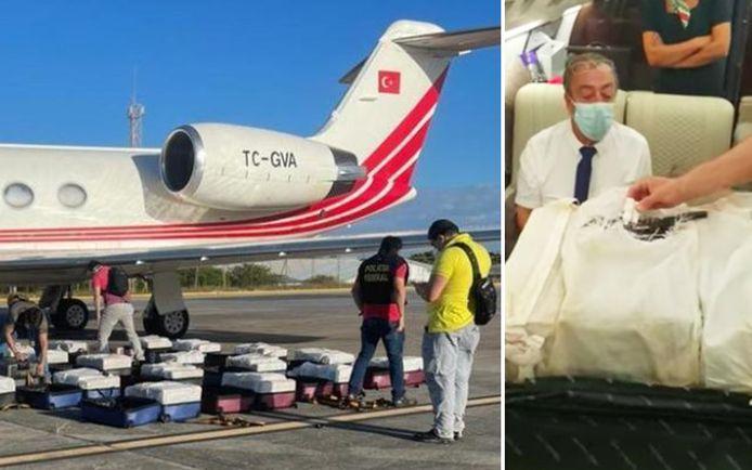 Toen de politie een passagier vroeg om zijn valies te openen, bleek die propvol cocaïne te zitten. Later vonden ze de andere valiezen.