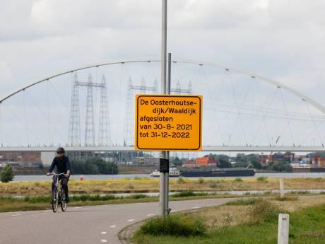 Oosterhoutsedijk en Waaldijk anderhalf jaar op slot: dijken moeten versterkt vanwege klimaatverandering
