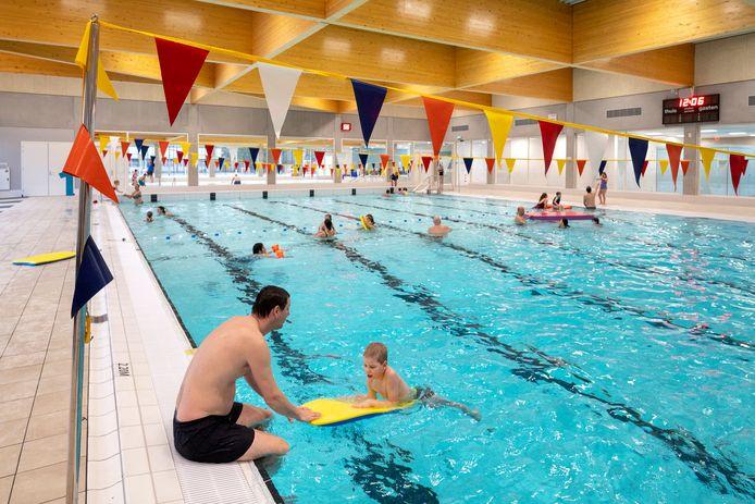 Het nieuwe Biljoenbad in Velp was in december vorig jaar even open voor recreatief gebruik.