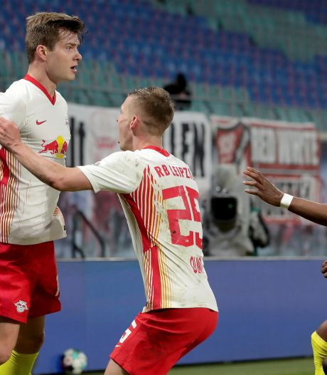 RB Leipzig toont veerkracht en wint kraker tegen Gladbach in extremis