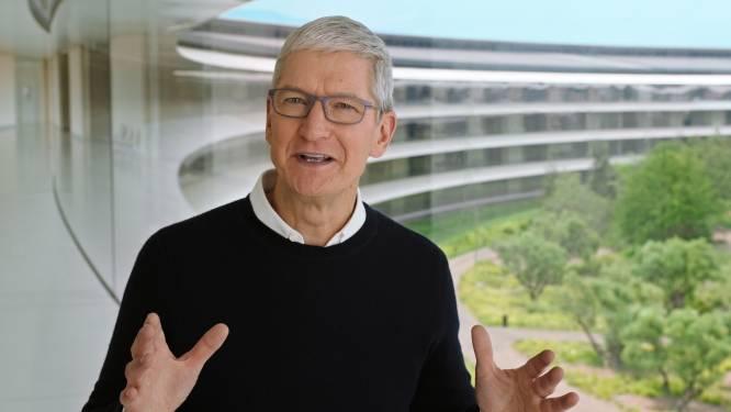 Apple-baas tevreden over prestaties thuiswerkend personeel