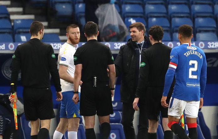 Gerrard liet weten met de betrokken spelers in gesprek te gaan.