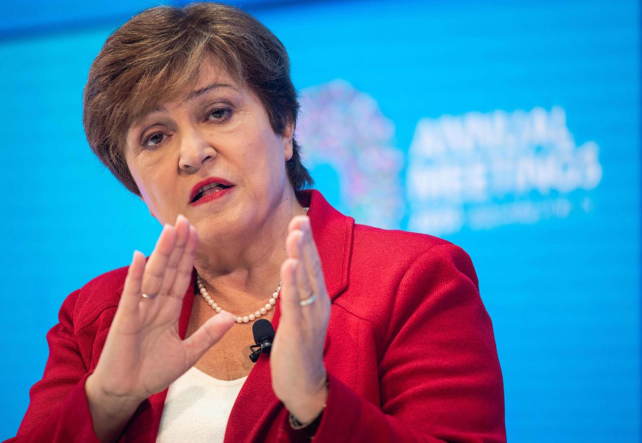 La directrice générale du FMI, Kristalina Georgieva