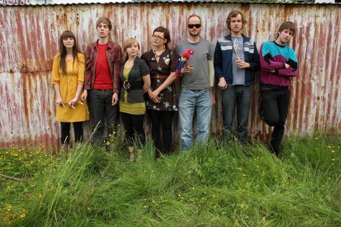De IJslandse band Seabear treedt op Hemelvaartsdag, met Moss, op in Roepaen in Ottersum. foto PR