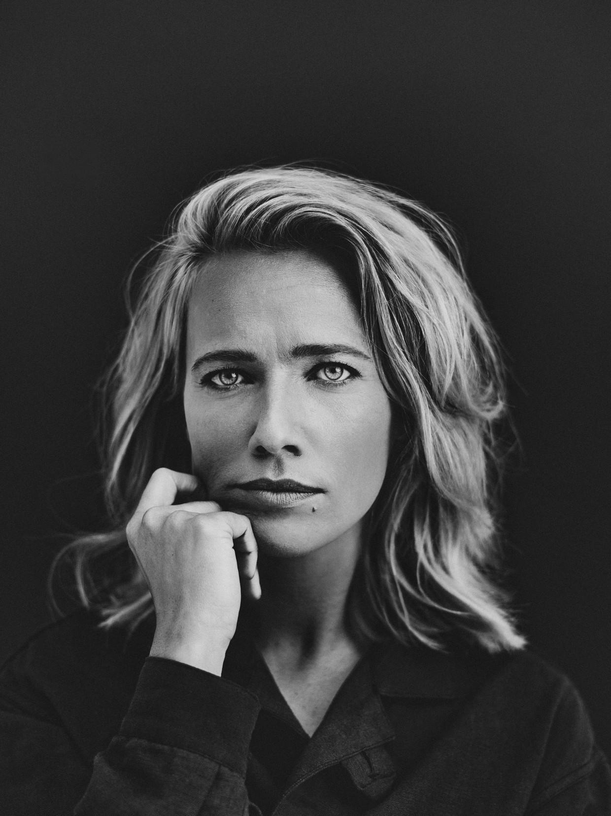Actrice Jennifer Hoffman Beeld Bastiaan Woudt