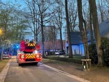 Brand in villa snel onder controle