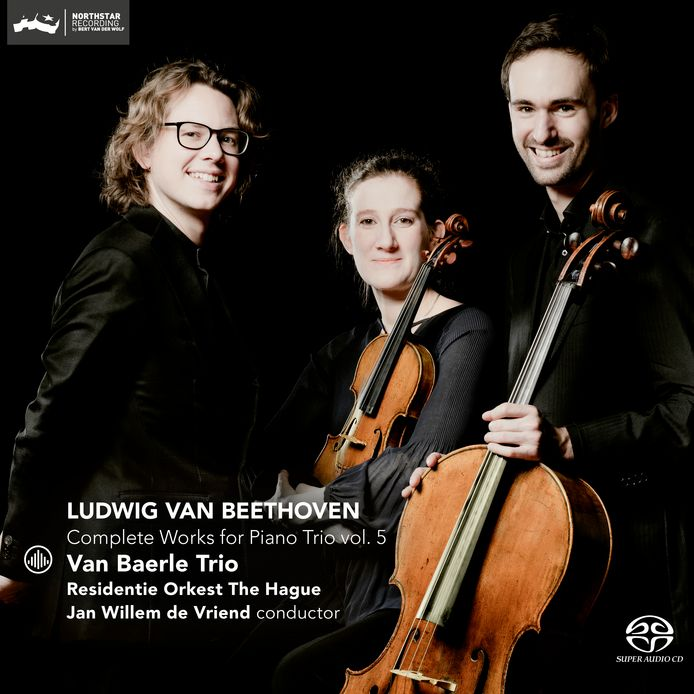 Het Van Baerle Trio speelt Beethoven.