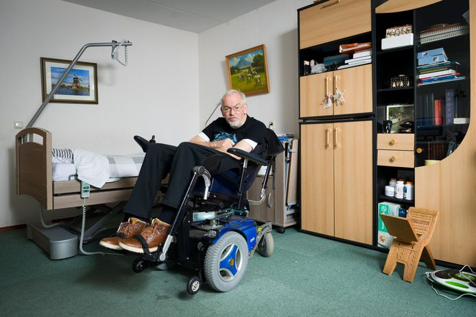 Piet Versteeg is al sinds maandag in hongerstaking.