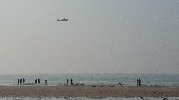 Zoekactie op het strand van Oostende: alle zwemmers werden uit zee gehaald
