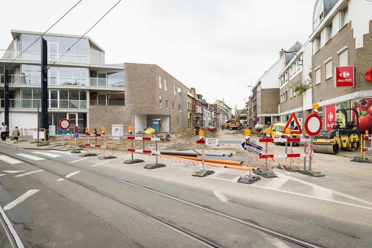 Een van de drie huidige werven in Gent ligt op de Hundelgemsesteenweg in Ledeberg.